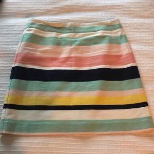 Loft skirt - linen and lined.